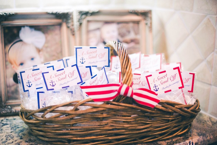 Favors from a Nautical Baby Shower + Birthday Party via Kara's Party Ideas | The Place for All Things Party! KarasPartyIdeas.com (20)