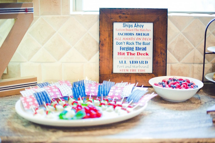 Baby Shower Favors At Hobby Lobby ~ Kara s party ideas nautical baby shower birthday