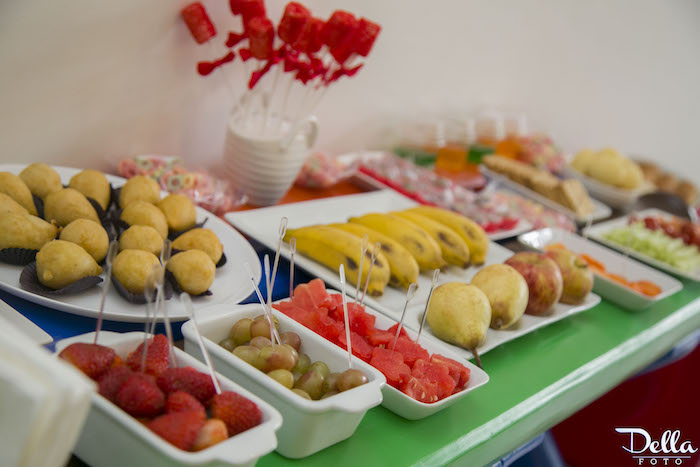 Food Table From A Once Upon Time Fairytale Birthday Party Via Karas