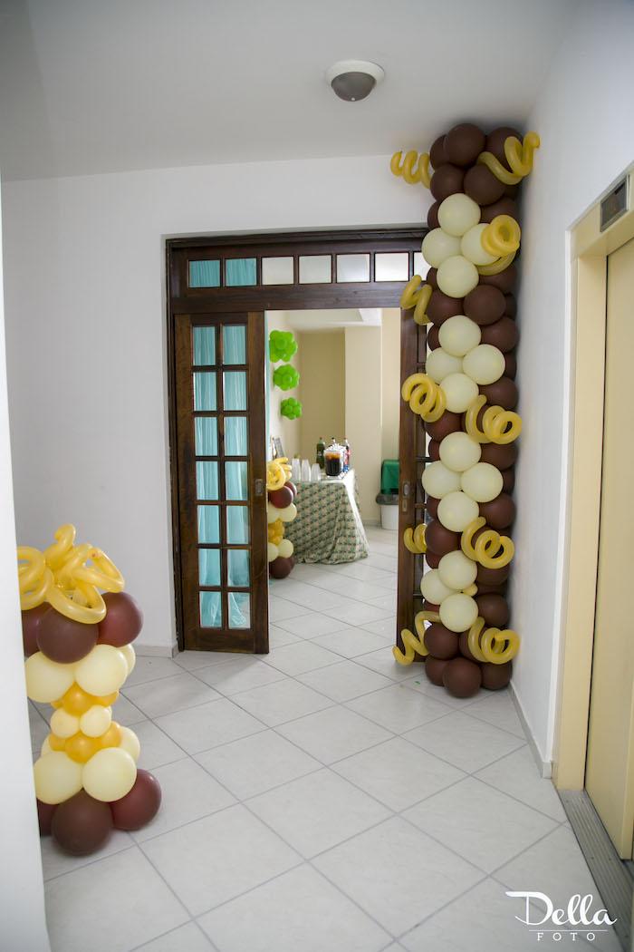"Entrance to a ""Once Upon a Time"" Fairytale Birthday Party via Kara's Party Ideas! KarasPartyIdeas.com (30)"