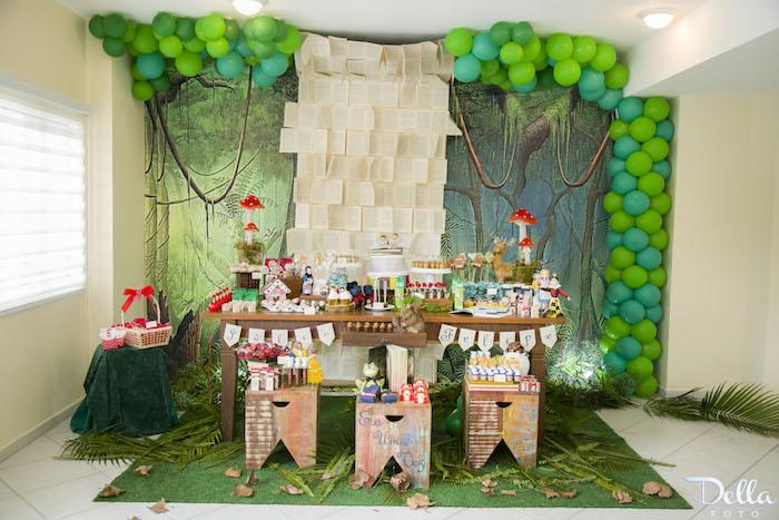 """Head Table from a """"Once Upon a Time"""" Fairytale Birthday Party via Kara's Party Ideas! KarasPartyIdeas.com (44)"""
