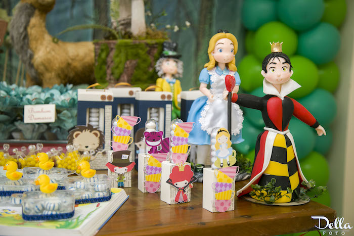 """Alice in Wonderland Favors from a """"Once Upon a Time"""" Fairytale Birthday Party via Kara's Party Ideas! KarasPartyIdeas.com (23)"""