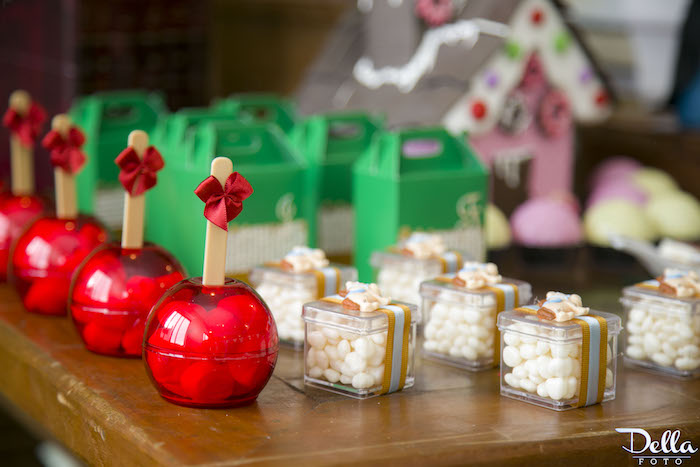 """Snow White inspired Favors from a """"Once Upon a Time"""" Fairytale Birthday Party via Kara's Party Ideas! KarasPartyIdeas.com (9)"""