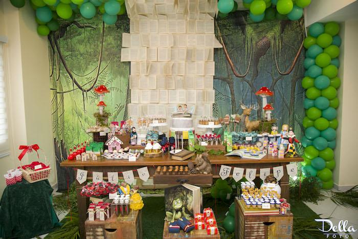 "Dessert Table from a ""Once Upon a Time"" Fairytale Birthday Party via Kara's Party Ideas! KarasPartyIdeas.com (3)"
