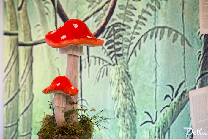"""Toadstools from a """"Once Upon a Time"""" Fairytale Birthday Party via Kara's Party Ideas! KarasPartyIdeas.com (2)"""