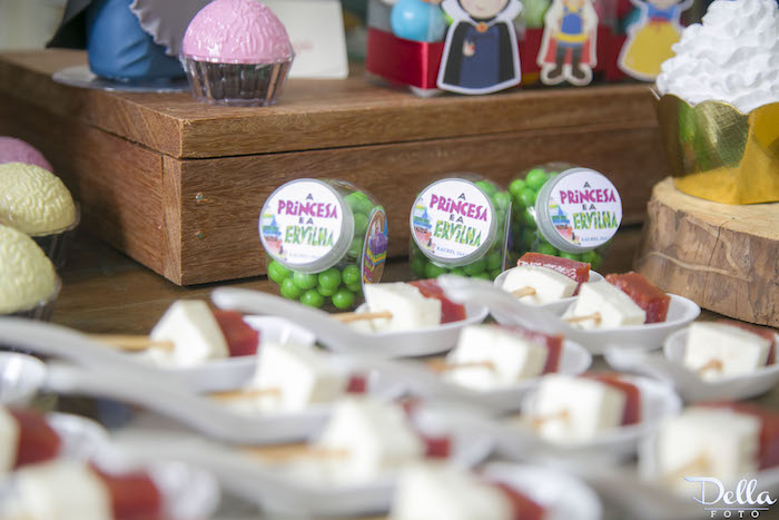 "Princess & The Frog Favor Jars from a ""Once Upon a Time"" Fairytale Birthday Party via Kara's Party Ideas! KarasPartyIdeas.com (38)"