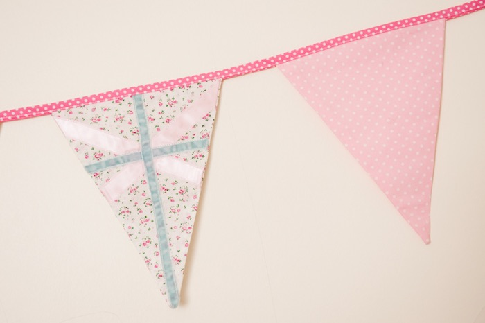 Detail of a Pennant Banner from a Pastel Easter Party via Kara's Party Ideas! KarasPartyIdeas.com (15)