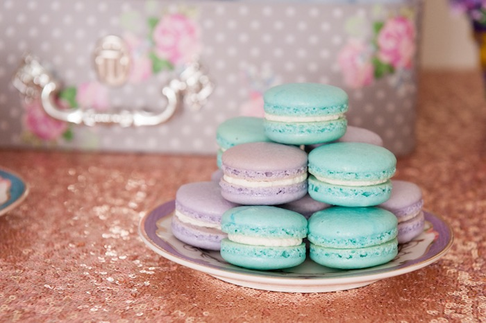 Macarons from a Pastel Easter Party via Kara's Party Ideas! KarasPartyIdeas.com (13)