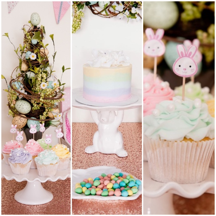 Details from a Pastel Easter Party via Kara's Party Ideas! KarasPartyIdeas.com (1)