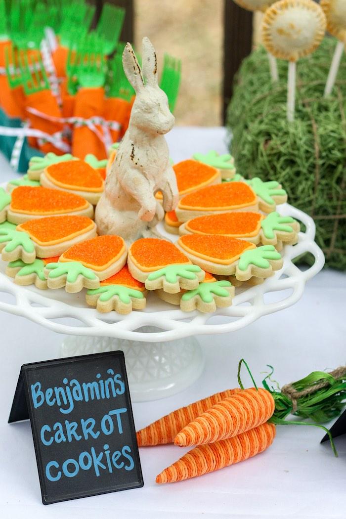 Kara's Party Ideas Peter Rabbit Birthday Party | Kara's ...
