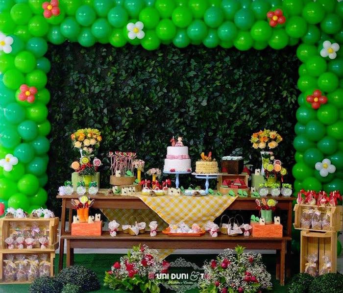 Kara's Party Ideas Birthday Picnic Party