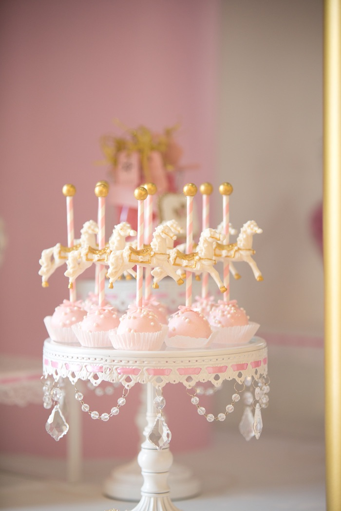 kara u0026 39 s party ideas pink carousel birthday party