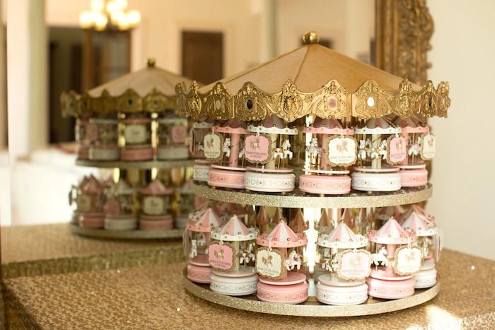 Kara S Party Ideas Pink Carousel Birthday Party Kara S Party Ideas