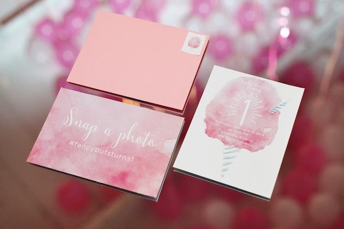 Stationery from a Pink Glam Corporate Birthday Party via Kara's Party Ideas! KarasPartyIdeas.com (29)
