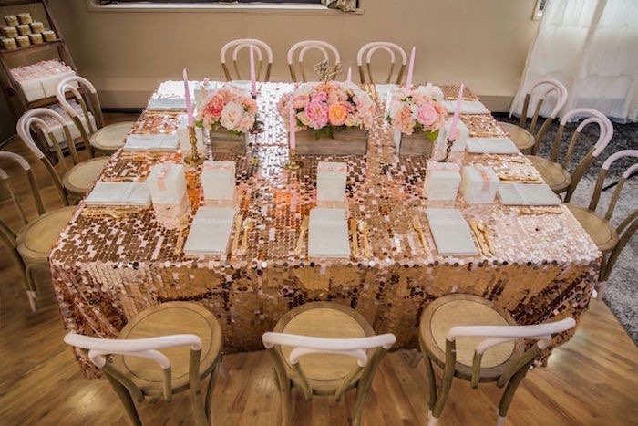 Karas Party Ideas Pink Gold 1st Birthday Party Karas  : Pink Gold 1st Birthday Party via Karas Party Ideas KarasPartyIdeascom40 from karaspartyideas.com size 700 x 467 jpeg 90kB