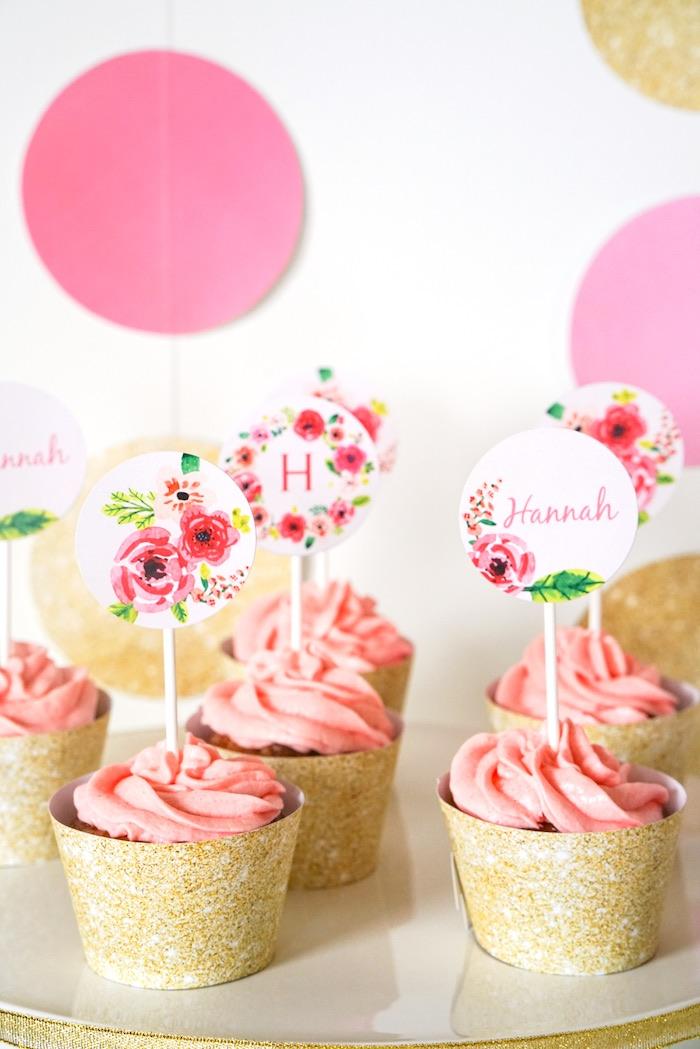 Kara S Party Ideas Pink Gold Half Birthday Party Kara