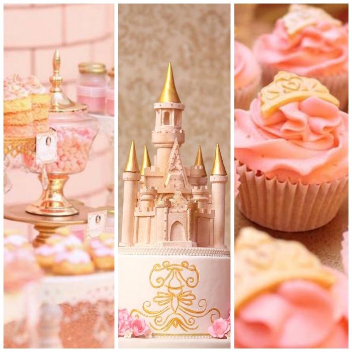 Pink + Gold Princess Party via Kara's Party Ideas | KarasPartyIdeas.com (1)