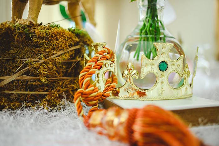 Guest Table Centerpieces from a Prince Caspian Themed Birthday Party via Kara's Party Ideas | The Place for All Things Party! KarasPartyIdeas.com (32)