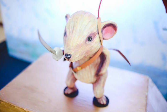 Reepicheep the Mouse Decor Piece from a Prince Caspian Themed Birthday Party via Kara's Party Ideas | The Place for All Things Party! KarasPartyIdeas.com (8)