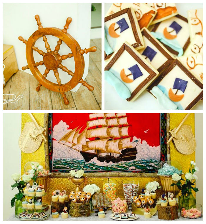 Decor + Details from a Prince Caspian Themed Birthday Party via Kara's Party Ideas | The Place for All Things Party! KarasPartyIdeas.com (2)