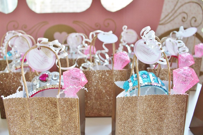 Favor Bags from a Princess Birthday Party via Kara's Party Ideas | KarasPartyIdeas.com (26)