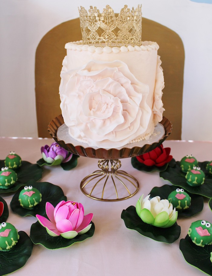 Cake + Cake Balls from a Princess Birthday Party via Kara's Party Ideas | KarasPartyIdeas.com (35)