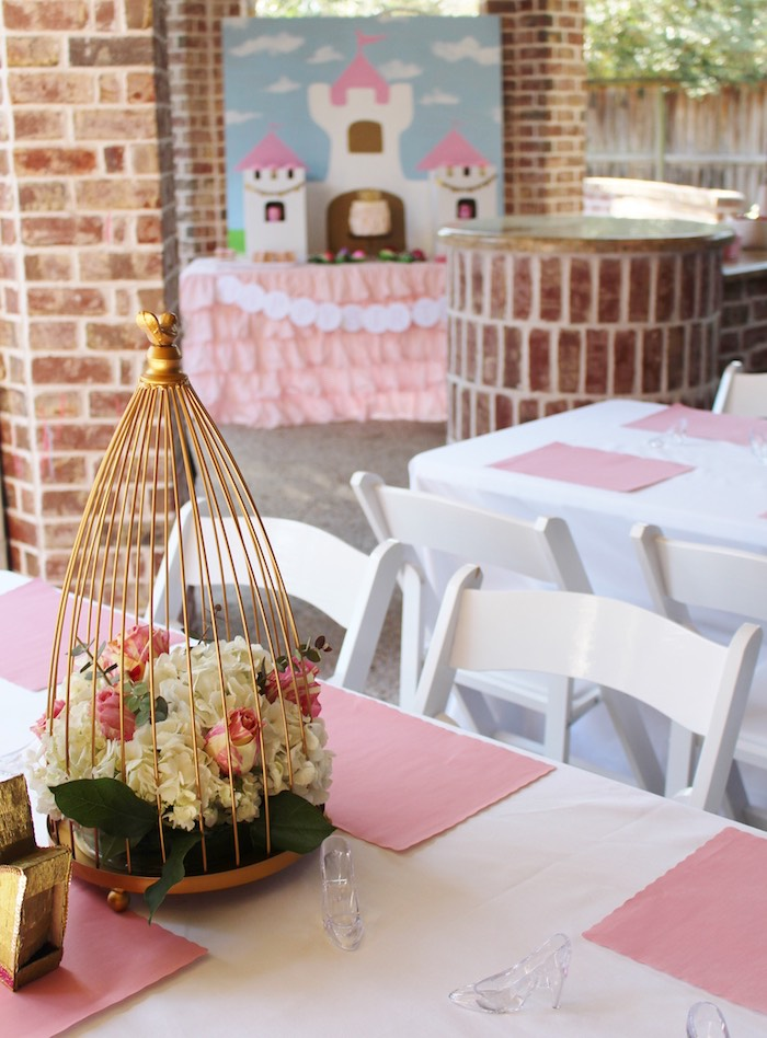 Partyscape from a Princess Birthday Party via Kara's Party Ideas | KarasPartyIdeas.com (9)