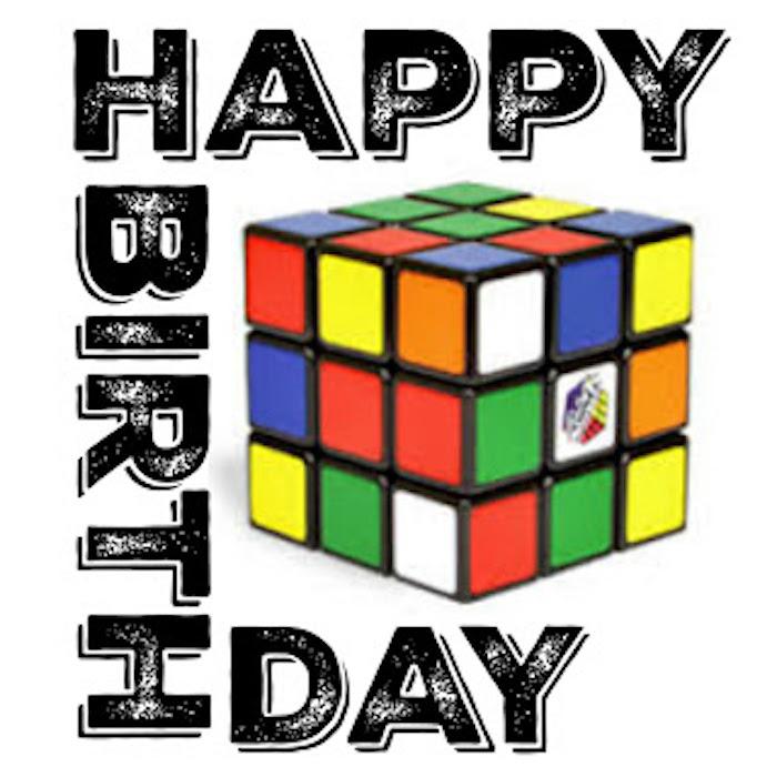 Poster + Stationery from a Rubik's Cube Themed Birthday Party via Kara's Party Ideas KarasPartyIdeas.com (5)