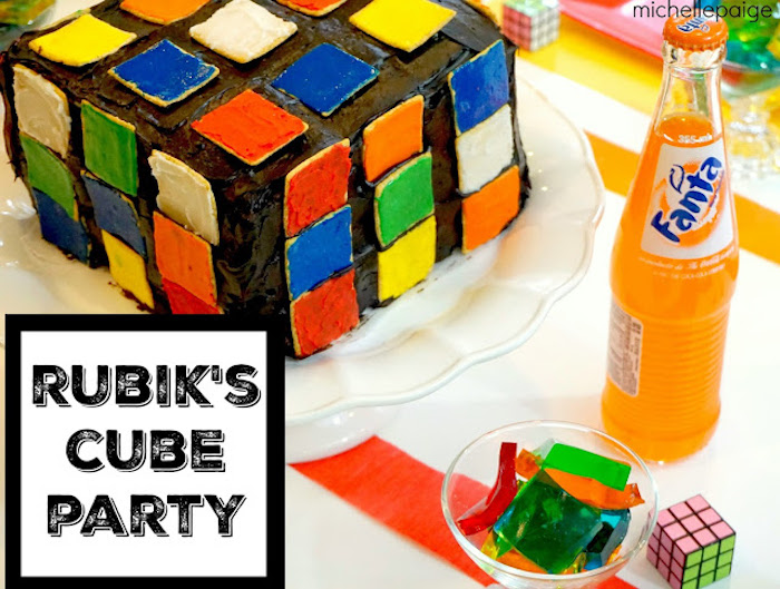 Details from a Rubik's Cube Themed Birthday Party via Kara's Party Ideas KarasPartyIdeas.com (3)