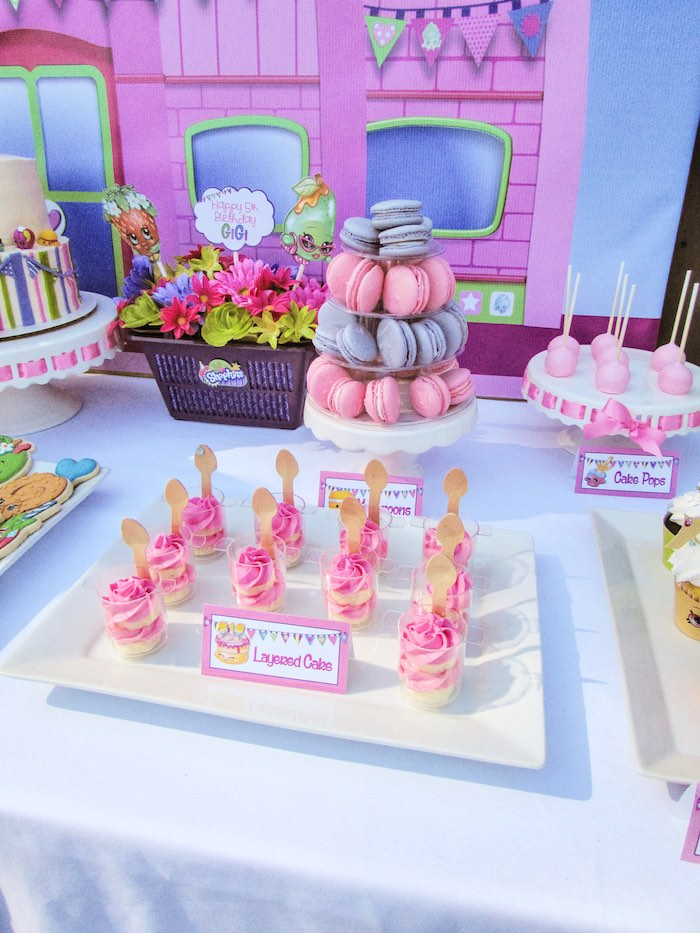 Sweets Table Details from a Shopkins Birthday Party via Kara's Party Ideas | KarasPartyIdeas.com (9)