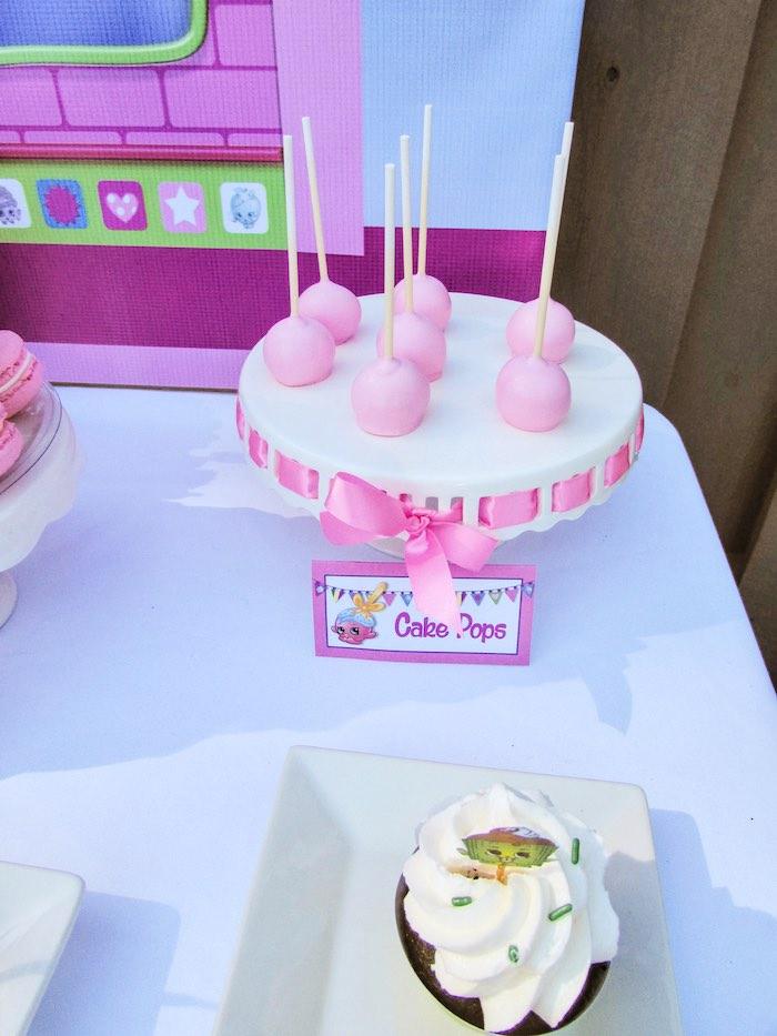 Cake Pops from a Shopkins Birthday Party via Kara's Party Ideas | KarasPartyIdeas.com (4)