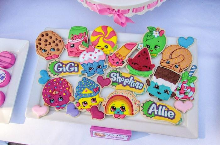 Cookies from a Shopkins Birthday Party via Kara's Party Ideas | KarasPartyIdeas.com (22)