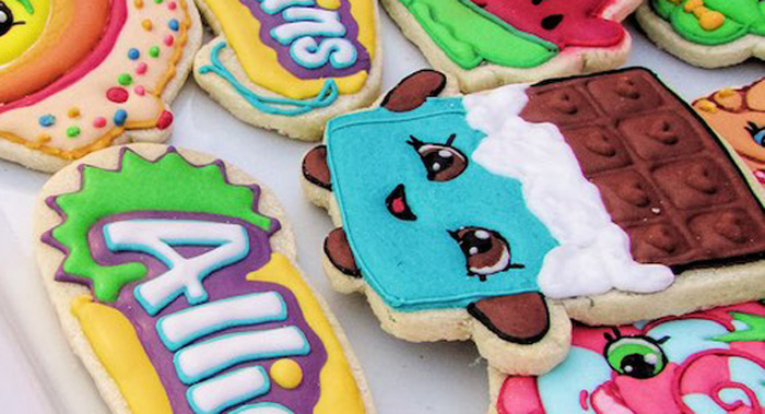 Cookie from a Shopkins Birthday Party via Kara's Party Ideas | KarasPartyIdeas.com (3)