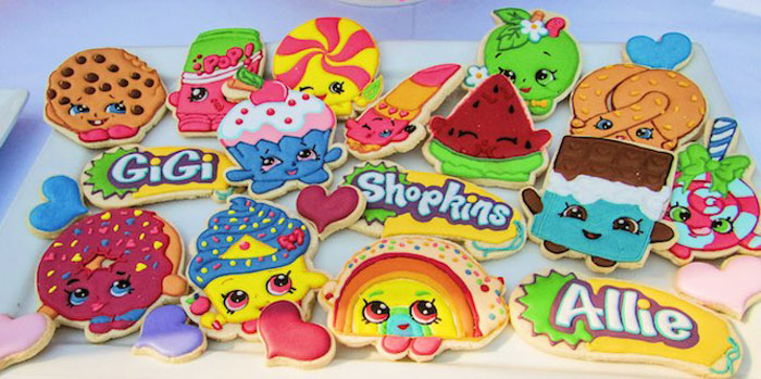 Cookies from a Shopkins Birthday Party via Kara's Party Ideas | KarasPartyIdeas.com (2)