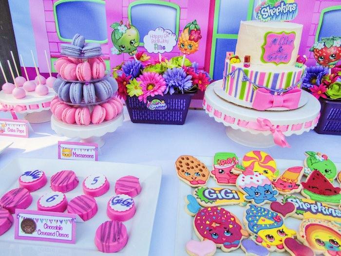 Sweets + Decor from a Shopkins Birthday Party via Kara's Party Ideas | KarasPartyIdeas.com (17)
