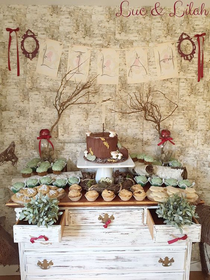 Kara S Party Ideas Snow White Enchanted Forest Birthday Party