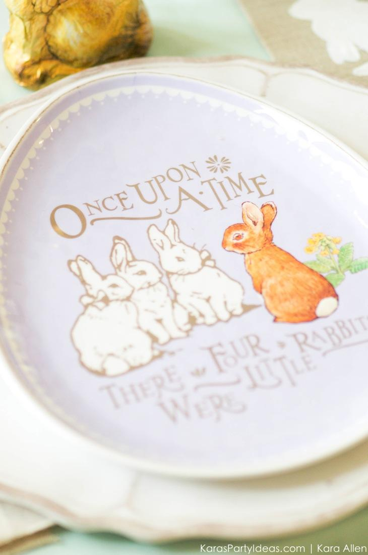 Spring Easter Party with Peter Rabbit and Friends via Kara's Party Ideas | KarasPartyIdeas.com Pottery Barn-12
