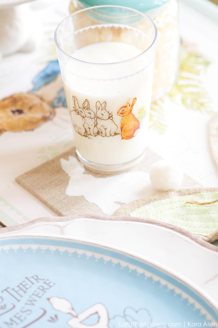 Spring Easter Party with Peter Rabbit and Friends via Kara's Party Ideas | KarasPartyIdeas.com Pottery Barn-13