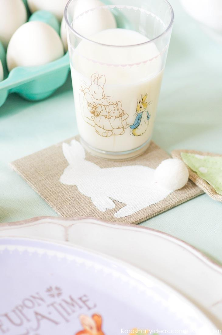Spring Easter Party with Peter Rabbit and Friends via Kara's Party Ideas | KarasPartyIdeas.com Pottery Barn-18