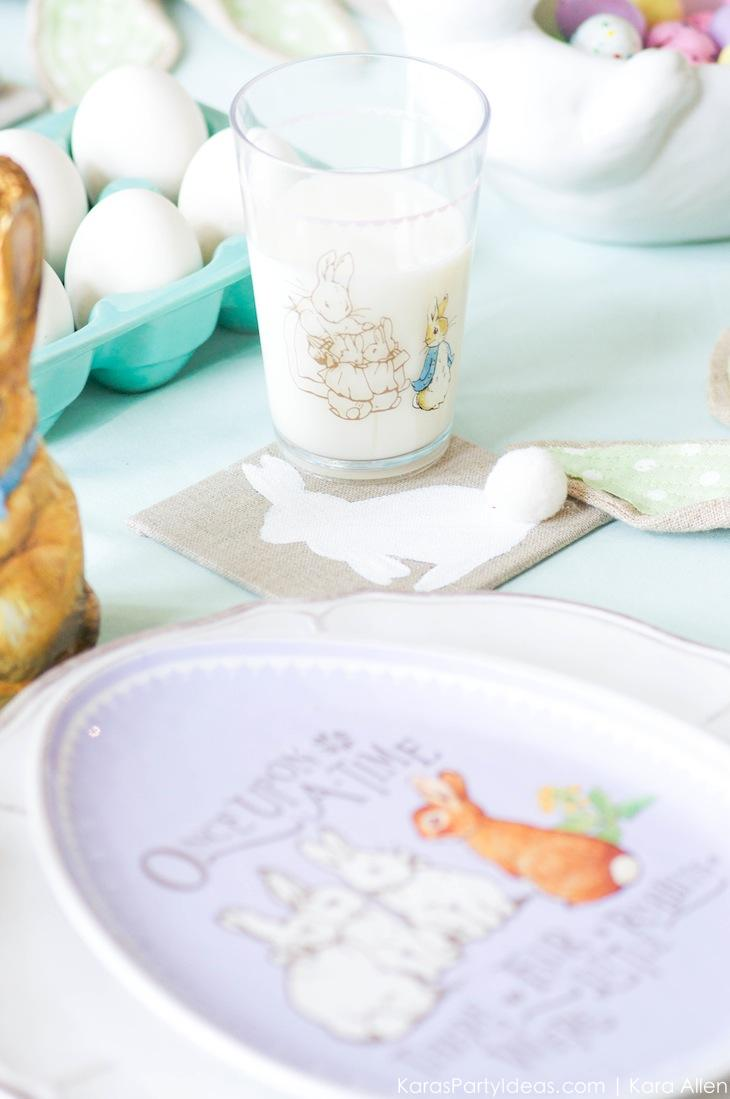 Spring Easter Party with Peter Rabbit and Friends via Kara's Party Ideas | KarasPartyIdeas.com Pottery Barn-19