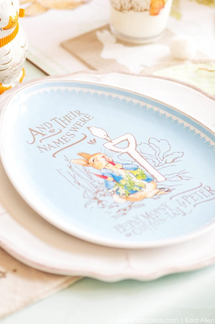 Spring Easter Party with Peter Rabbit and Friends via Kara's Party Ideas | KarasPartyIdeas.com Pottery Barn-21