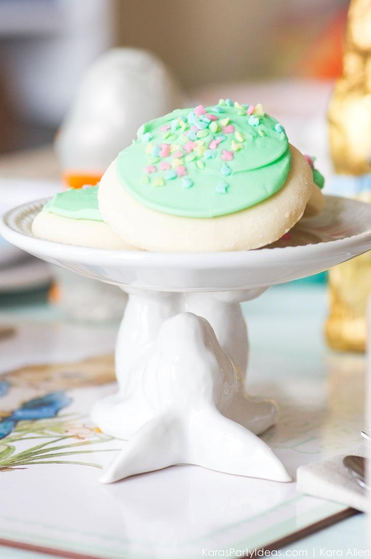 Spring Easter Party with Peter Rabbit and Friends via Kara's Party Ideas | KarasPartyIdeas.com Pottery Barn-23