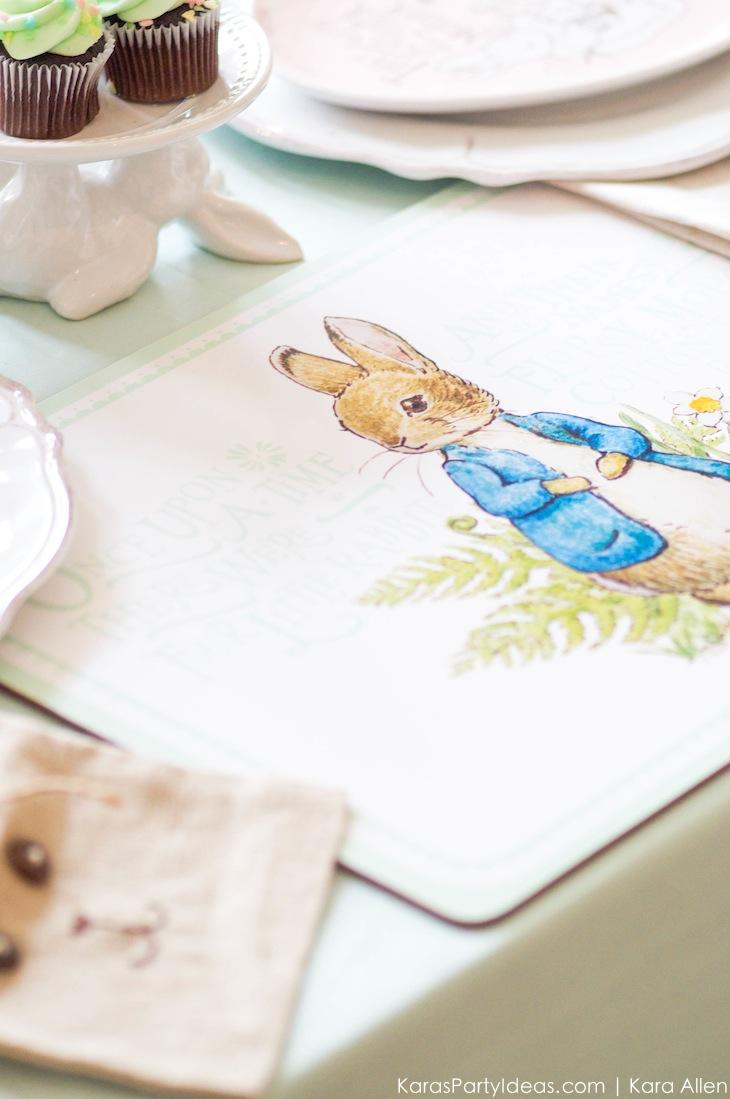 Spring Easter Party with Peter Rabbit and Friends via Kara's Party Ideas | KarasPartyIdeas.com Pottery Barn-35