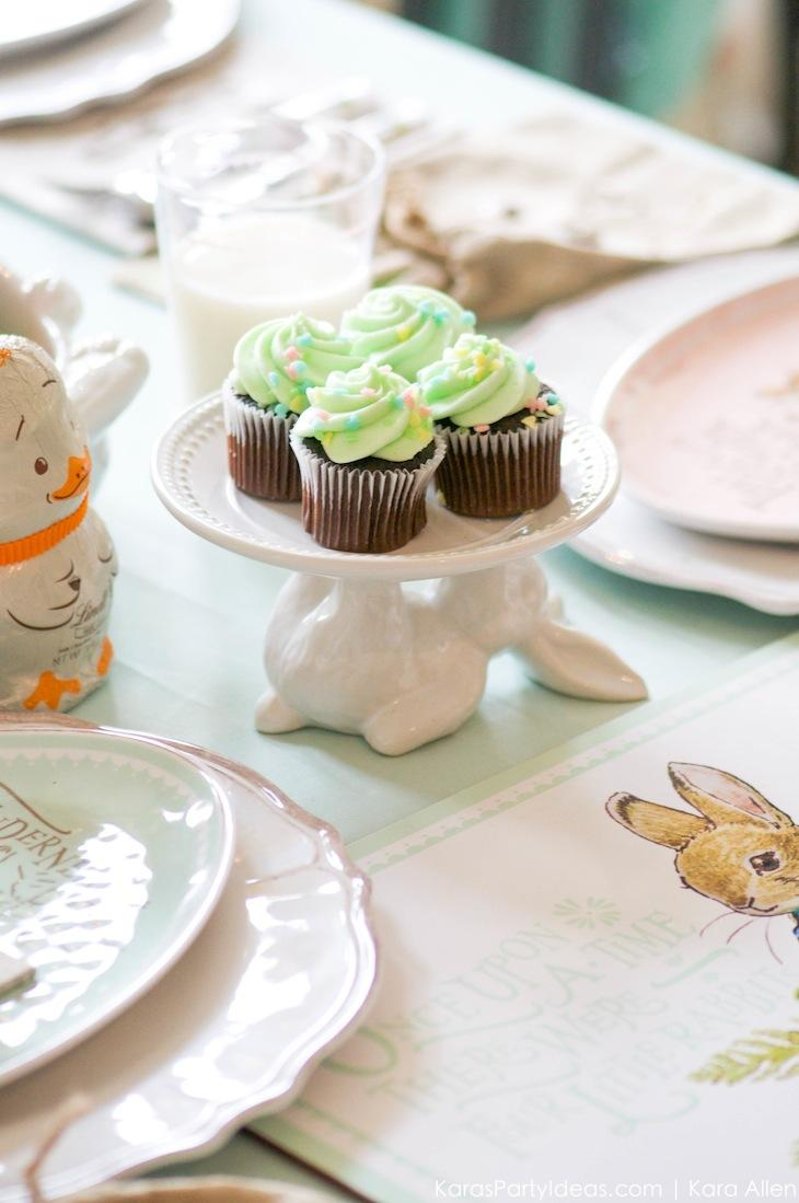 Spring Easter Party with Peter Rabbit and Friends via Kara's Party Ideas | KarasPartyIdeas.com Pottery Barn-36