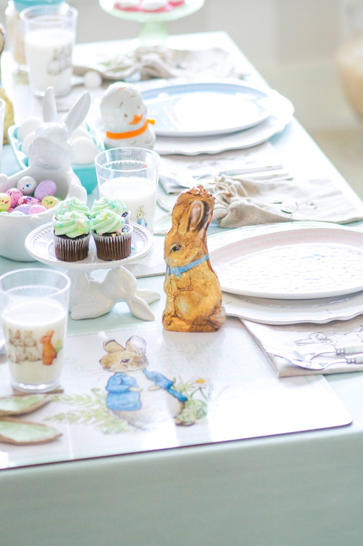 Spring Easter Party with Peter Rabbit and Friends via Kara's Party Ideas | KarasPartyIdeas.com Pottery Barn-41