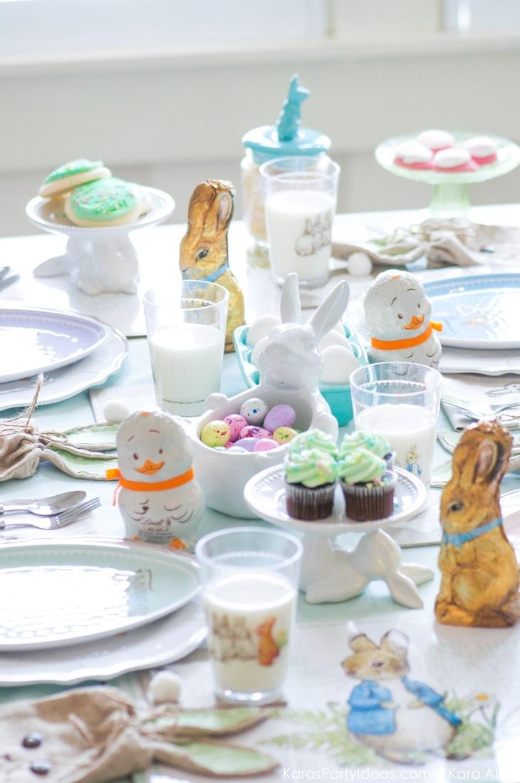 Spring Easter Party with Peter Rabbit and Friends via Kara's Party Ideas | KarasPartyIdeas.com Pottery Barn-42