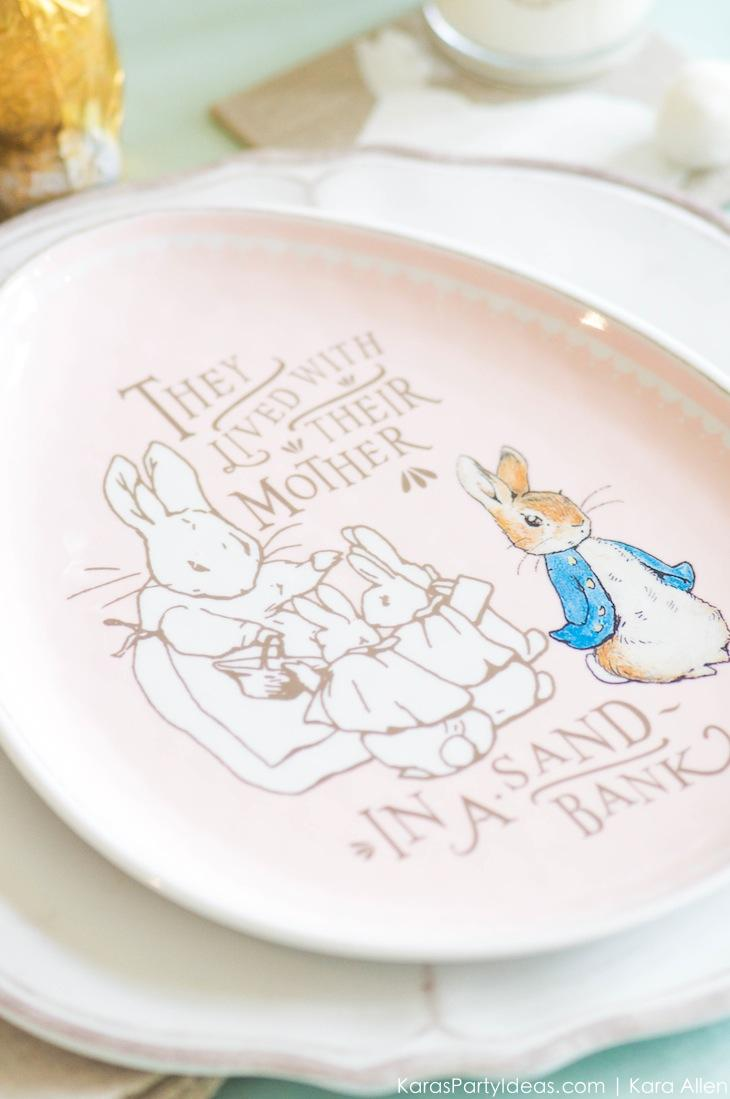 Spring Easter Party with Peter Rabbit and Friends via Kara's Party Ideas | KarasPartyIdeas.com Pottery Barn-5