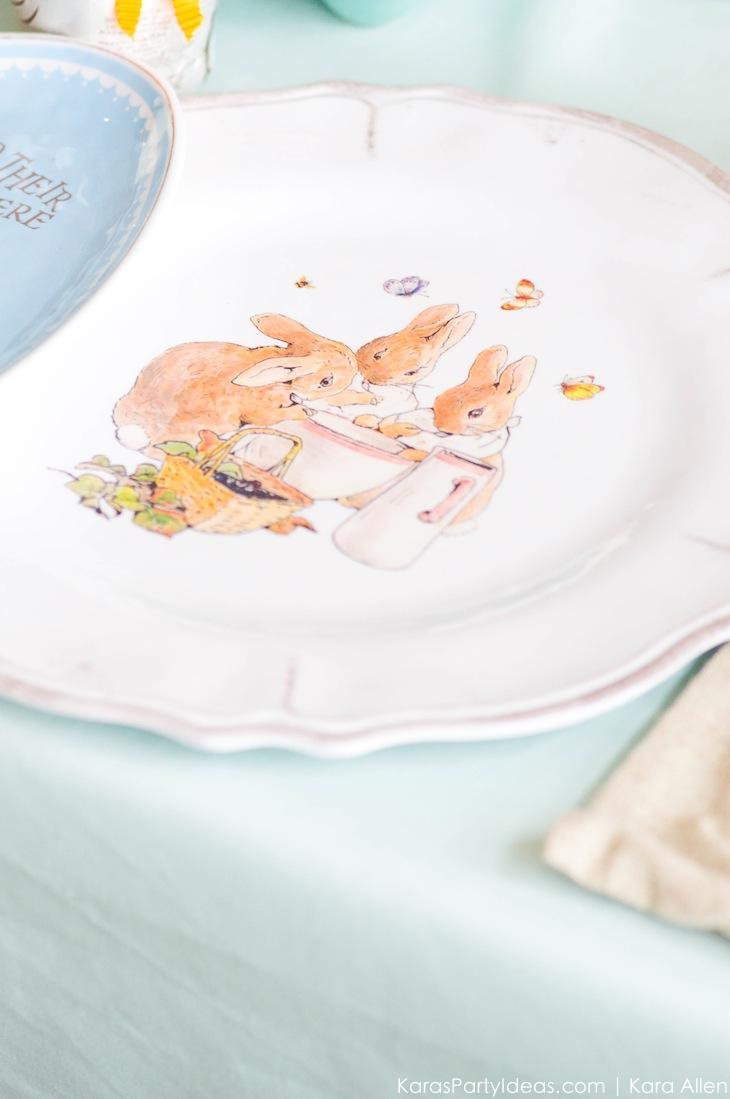 Spring Easter Party with Peter Rabbit and Friends via Kara's Party Ideas | KarasPartyIdeas.com Pottery Barn-50