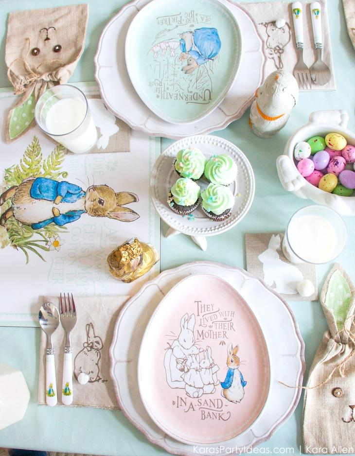 Spring Easter Party with Peter Rabbit and Friends via Karau0027s Party Ideas | KarasPartyIdeas.com  sc 1 st  Karau0027s Party Ideas & Karau0027s Party Ideas Spring Easter Party with Peter Rabbit u0026 Friends