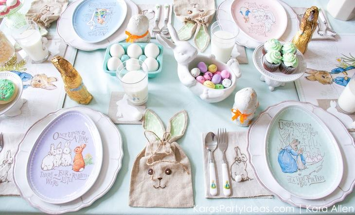 Spring Easter Party with Peter Rabbit and Friends via Kara's Party Ideas | KarasPartyIdeas.com Pottery Barn-62